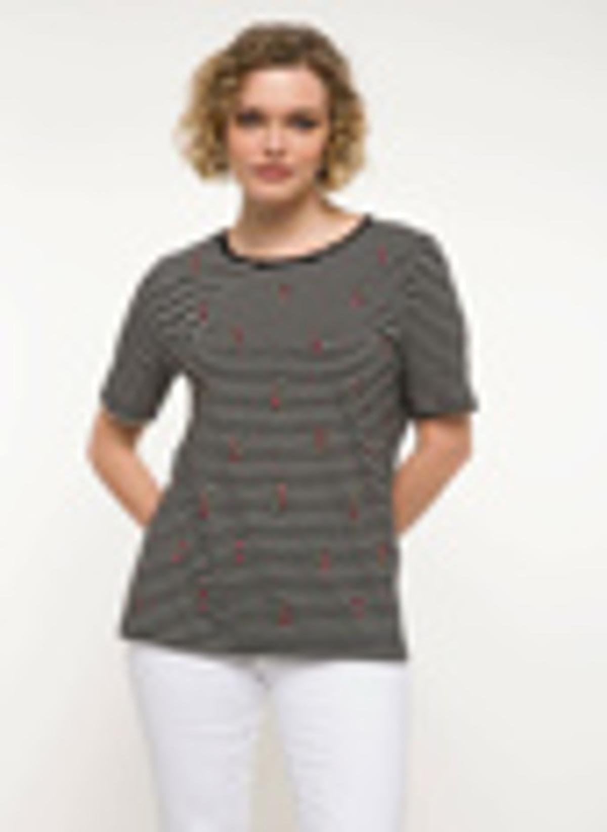 Defacto İşleme Detaylı Çizgili T-shirt I8104az18smbk27t-shirt – 29.99 TL
